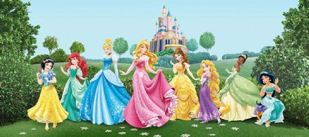"Disney bedroom wallpaper ""Princess"""